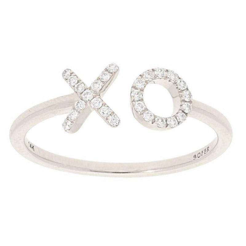 Deutsch Signature X O Diamond Ring