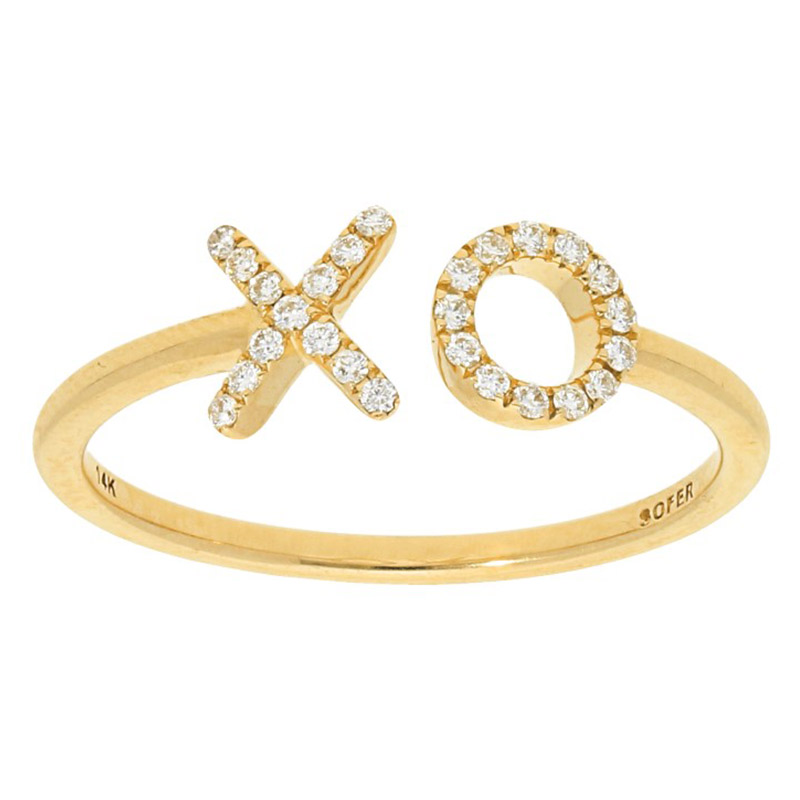 Deutsch Signature X O Diamond Ring
