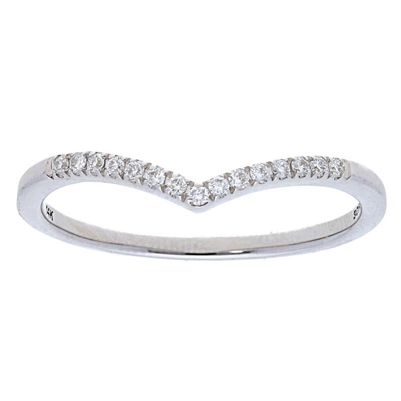 Deutsch Signature Concave Diamond Ring