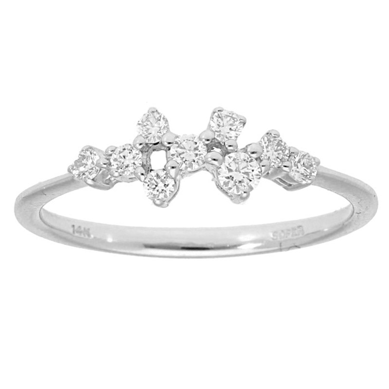 Deutsch Signature Cluster Diamond Ring