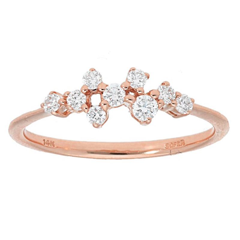 Deutsch Signature Cluster Diamond Ring