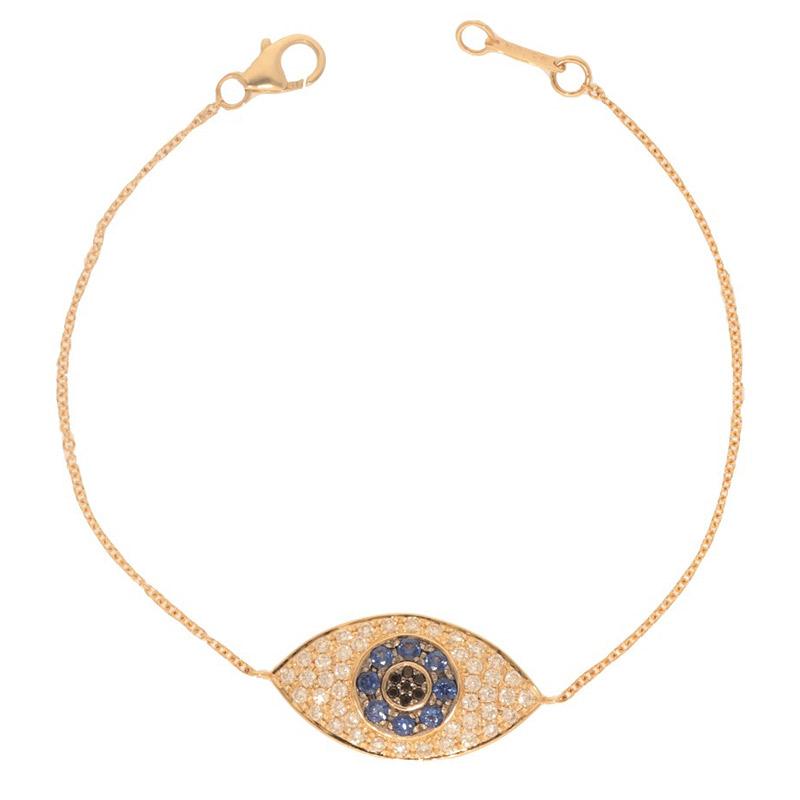 Deutsch Signature Large Evil Eye Bracelet