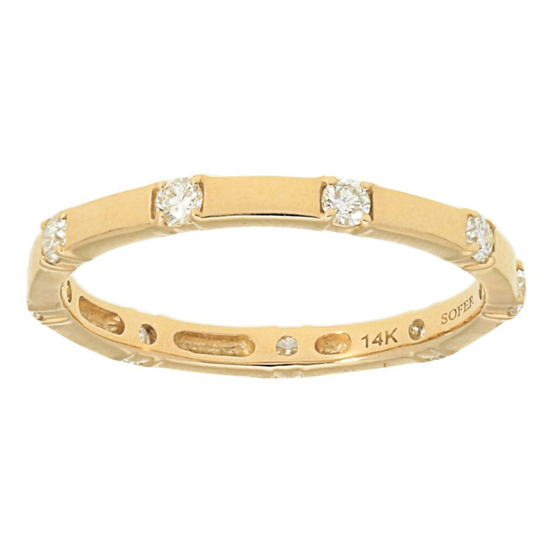 Deutsch Signature Spaced out Diamond Eternity Ring