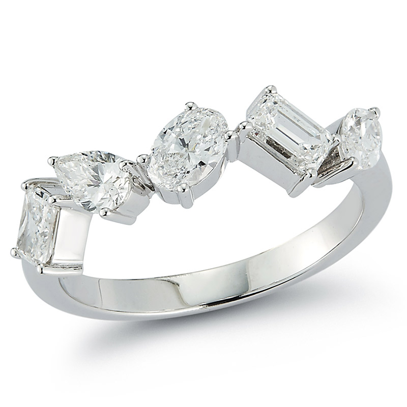 Deutsch Signature Multi Diamond Ring