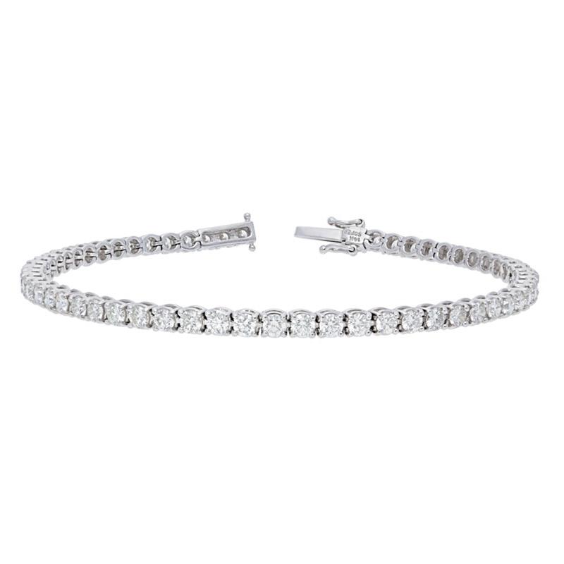 Deutsch Signature Diamond Tennis Bracelet