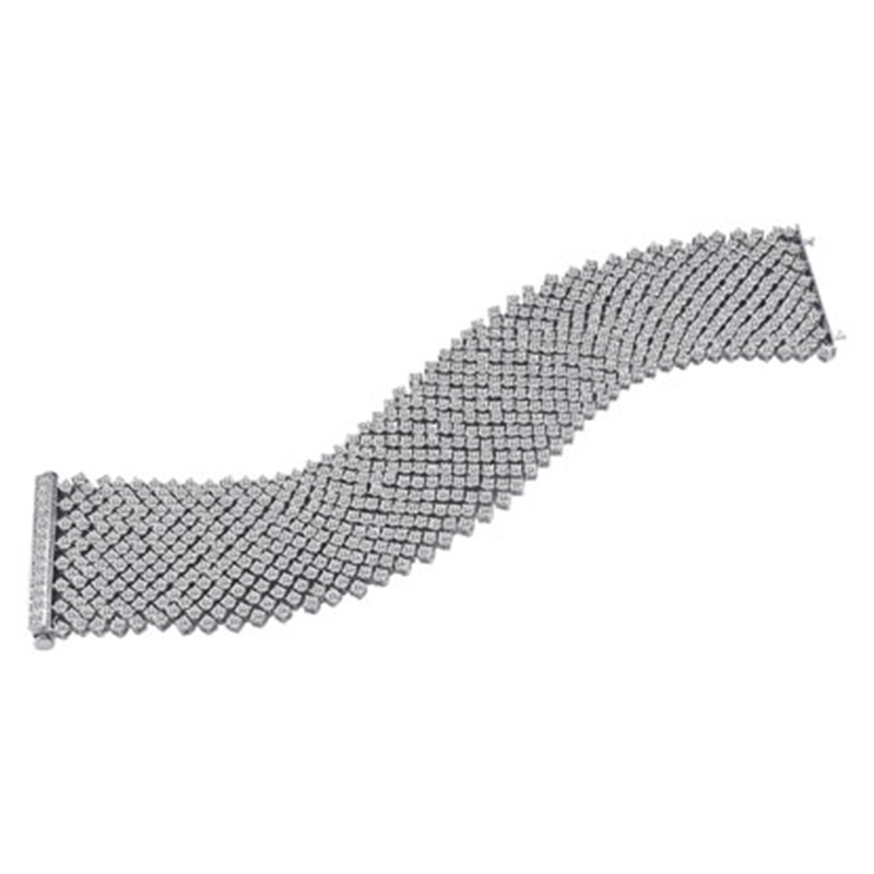 Deutsch Signature Cashmere Diamond Bracelet