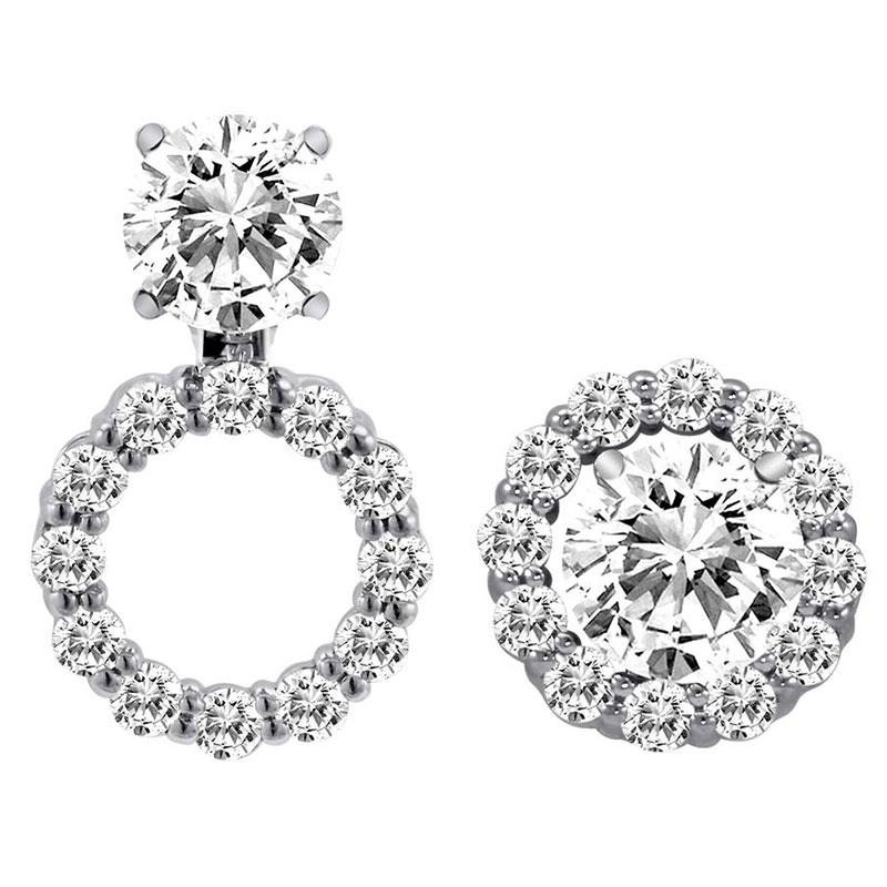 Deutsch Signature Diamond Earring Jackets