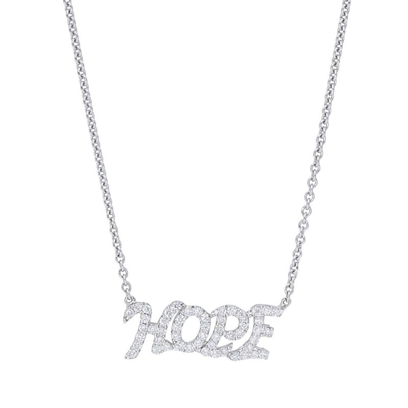 Deutsch Signature Diamond Hope Necklace