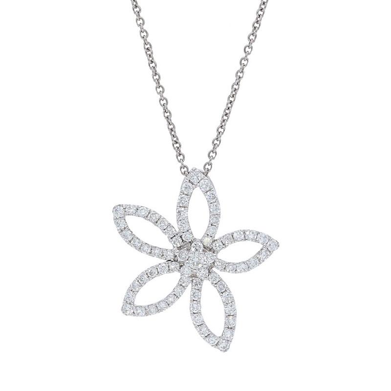 Deutsch Signature Diamond Lily Pendant