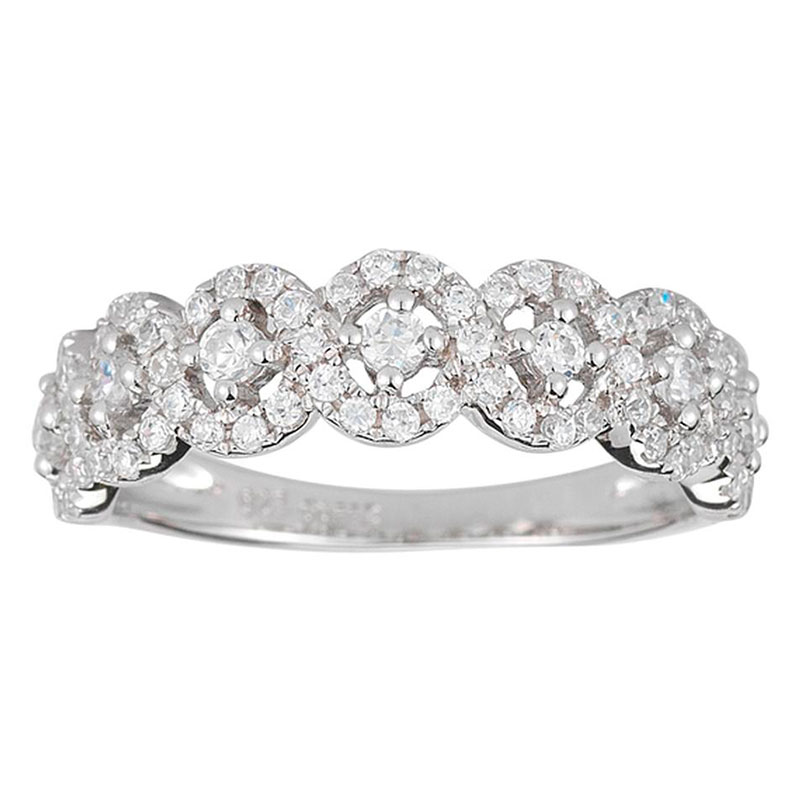 Deutsch Signature Halo Diamond Ring