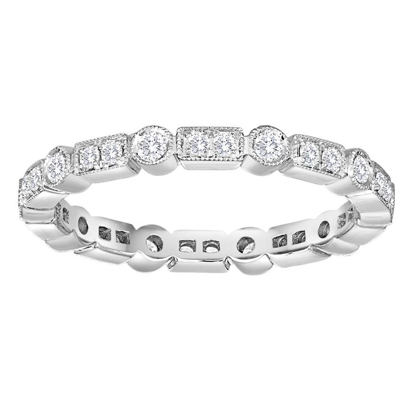 Deutsch Signature Diamond Bar and Bezel Ring