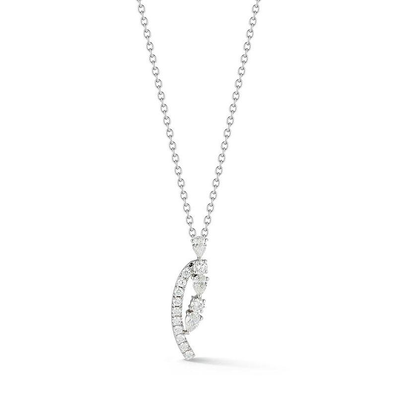 Deutsch Signature Multi Shape Diamond Pendant