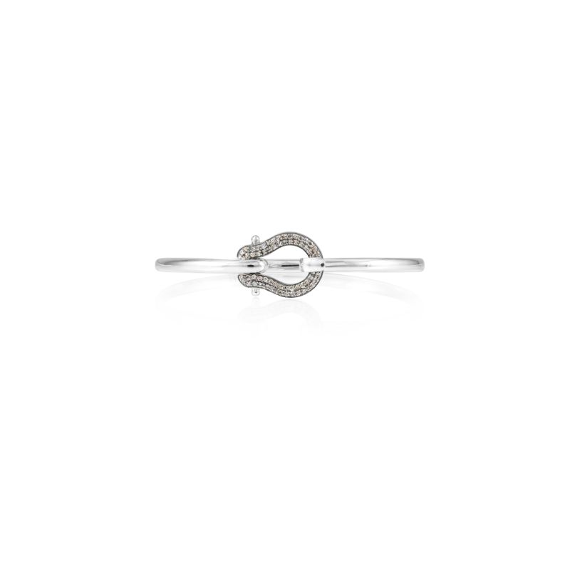 Vincent Peach Diamond Promenade Bangle