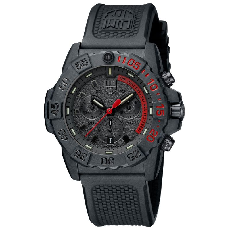 Luminox Navy SEAL Chronograph, 45 mm, Military Dive Watch - 3581.EY