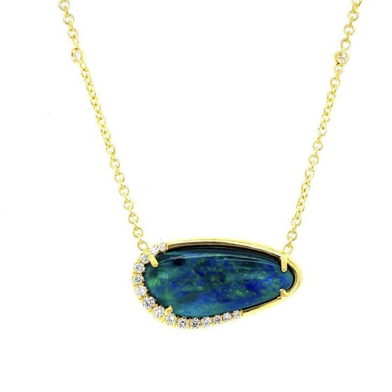 Lauren K Black Opal Stella Necklace