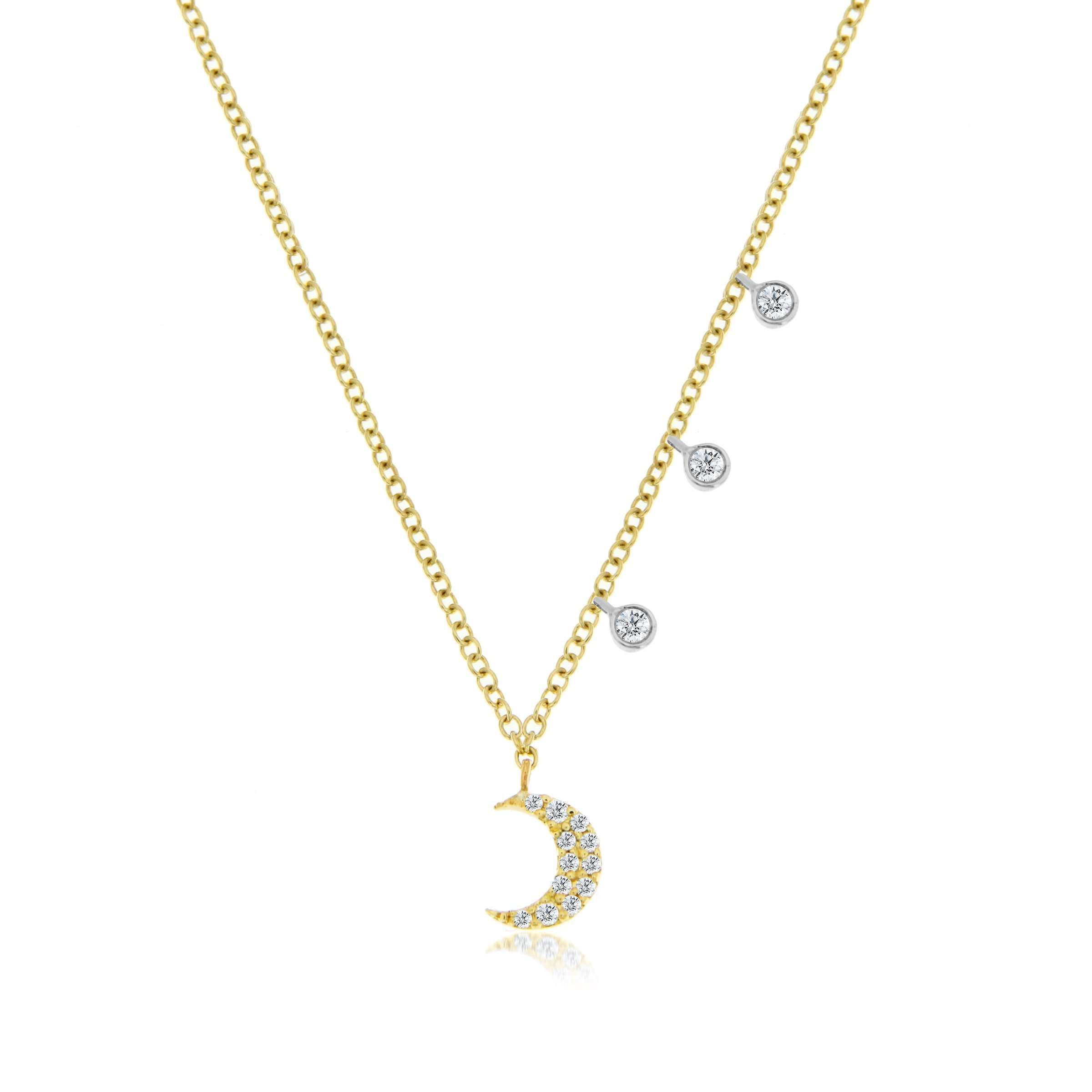 Meira T Essential Moon Necklace